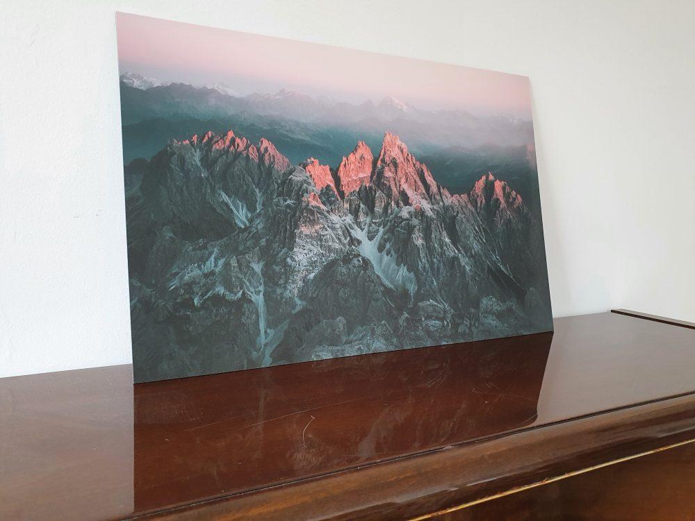 First Light upon the Dolomites. von Johannes Höhn