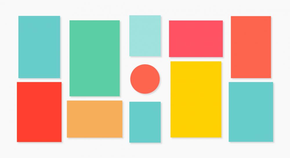 Gallery Wall Mix: Schema einer Bilderwand
