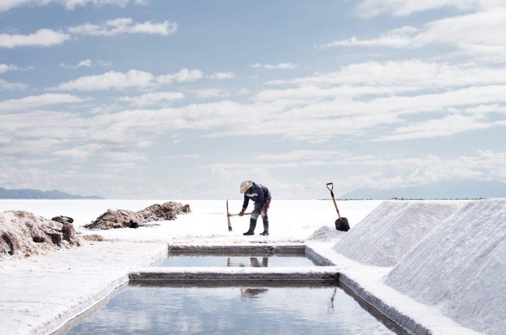 Salz-Arbeiter von Felix Dorn