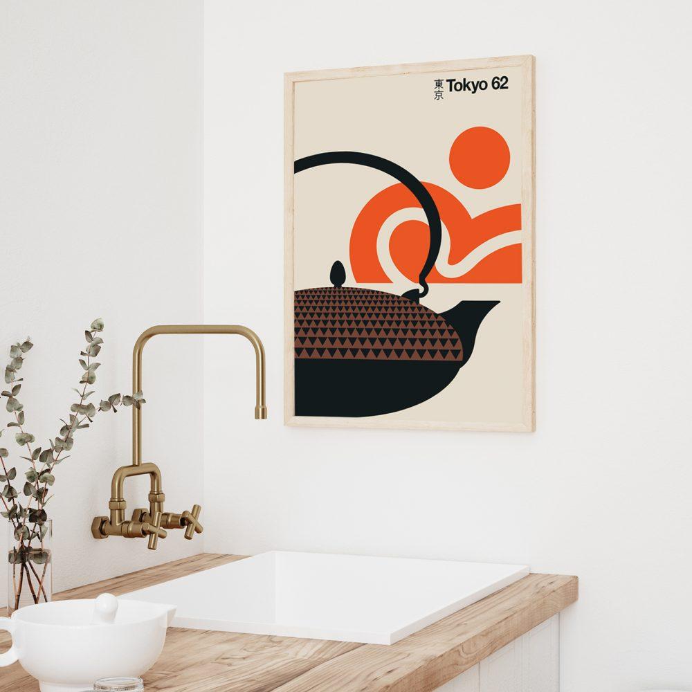 Badezimmer Deko von Bo Lundberg: 'Tokyo 62'