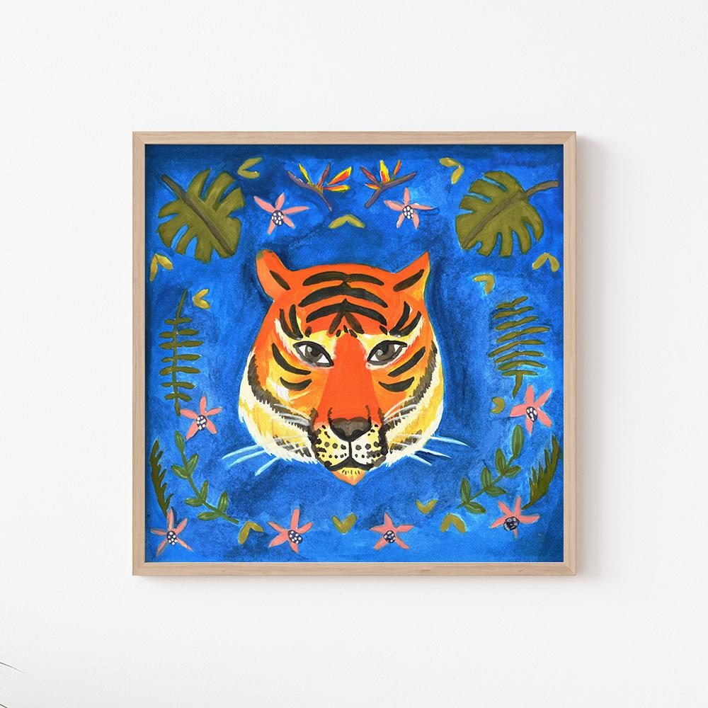 'Eye of the Tiger' von Anita Letuve
