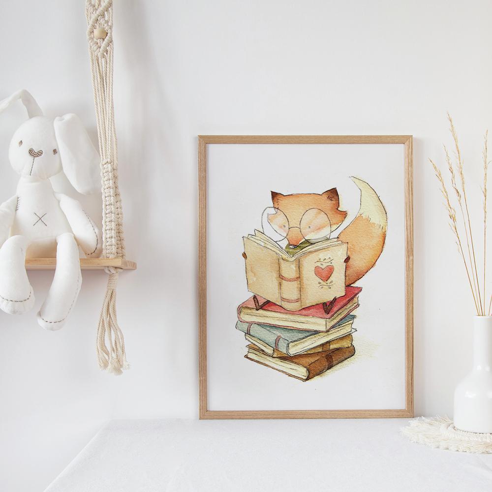 'Book Lover' von Mike Koubou