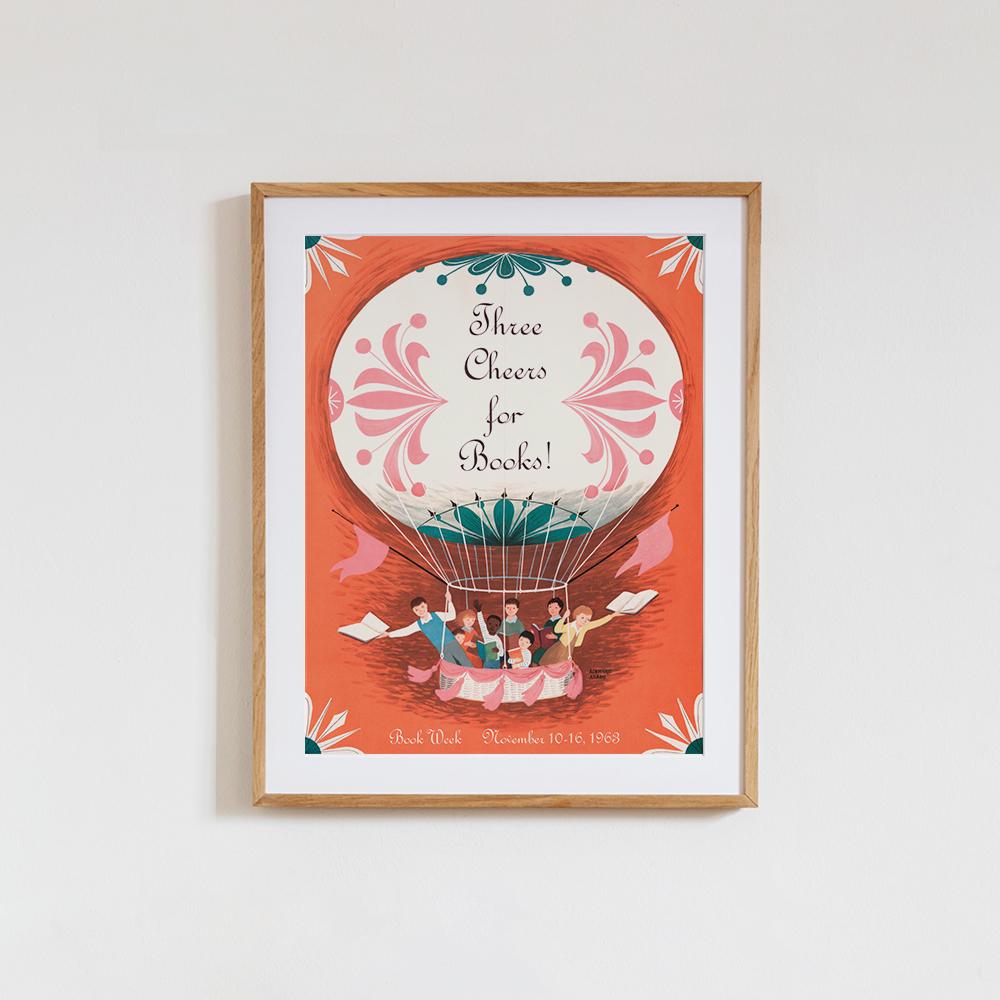 'Three Cheers for Books' von Vintage Collection