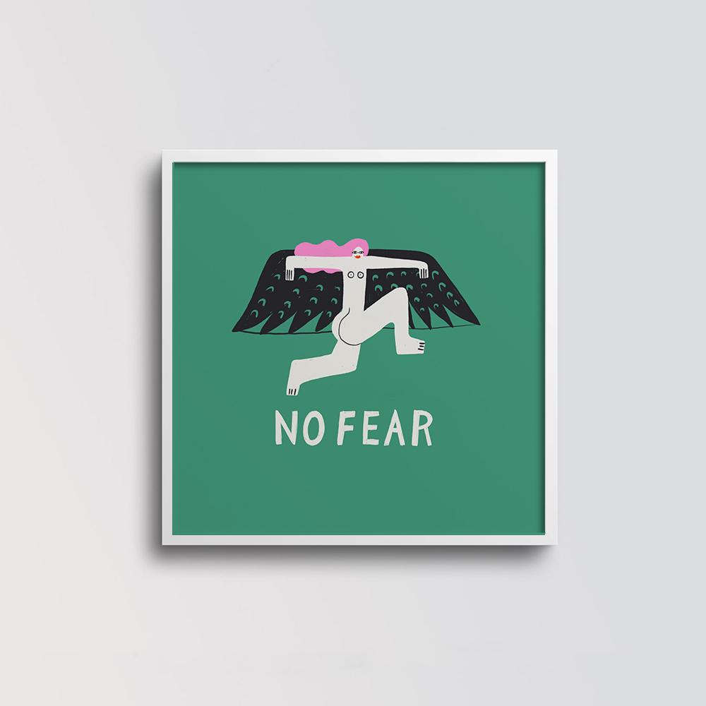 'No Fear' von Aley Hanson