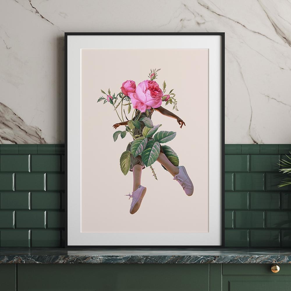 'Rose Girl' von Jonas Loose