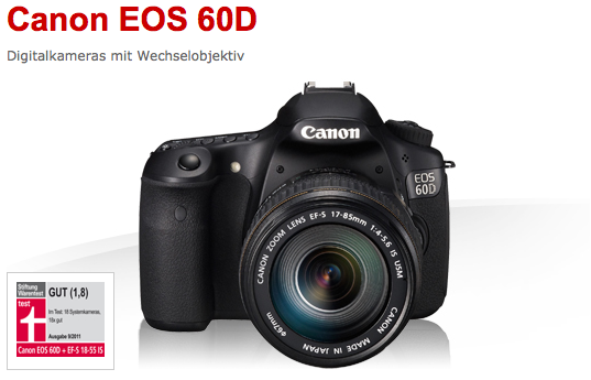 Win a Canon EOS 60D / 18 - 55 mm on Photocircle