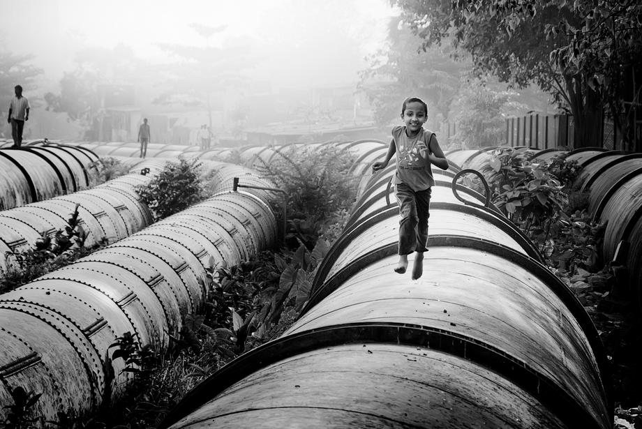 Fotokunst von Rob van Kessel - Pipeline of Life