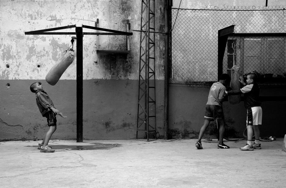 The boxer by Simon Bode