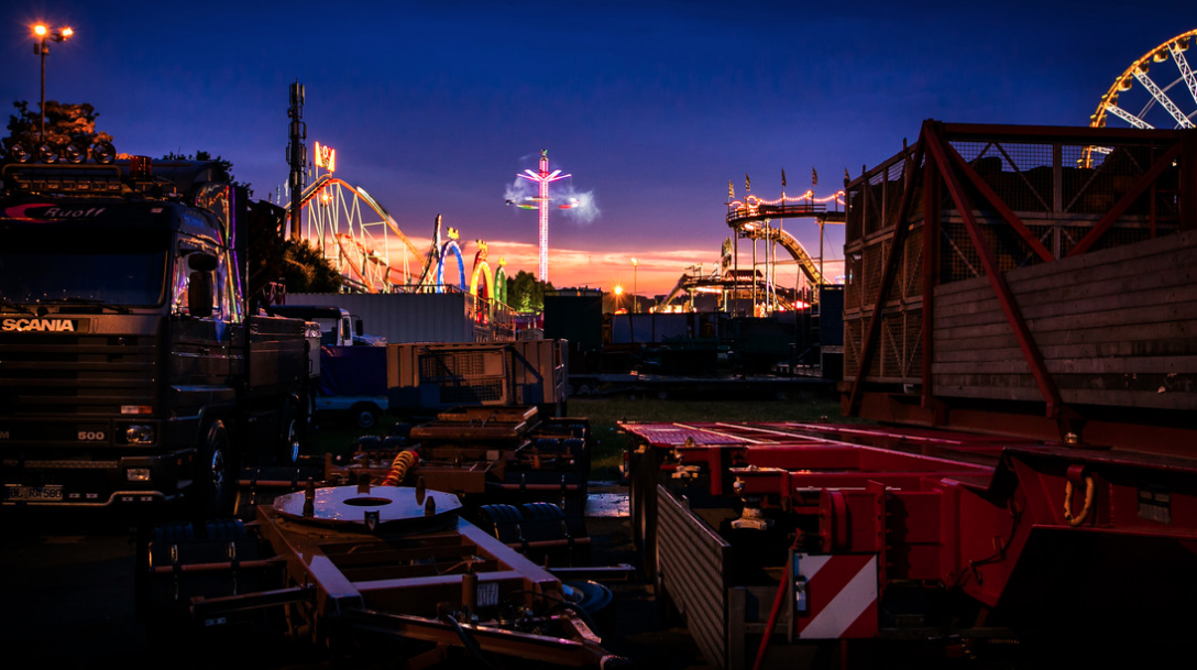 Canstatter Wasen Fruehlingsfest - Fotokunst von Christoph Kalck