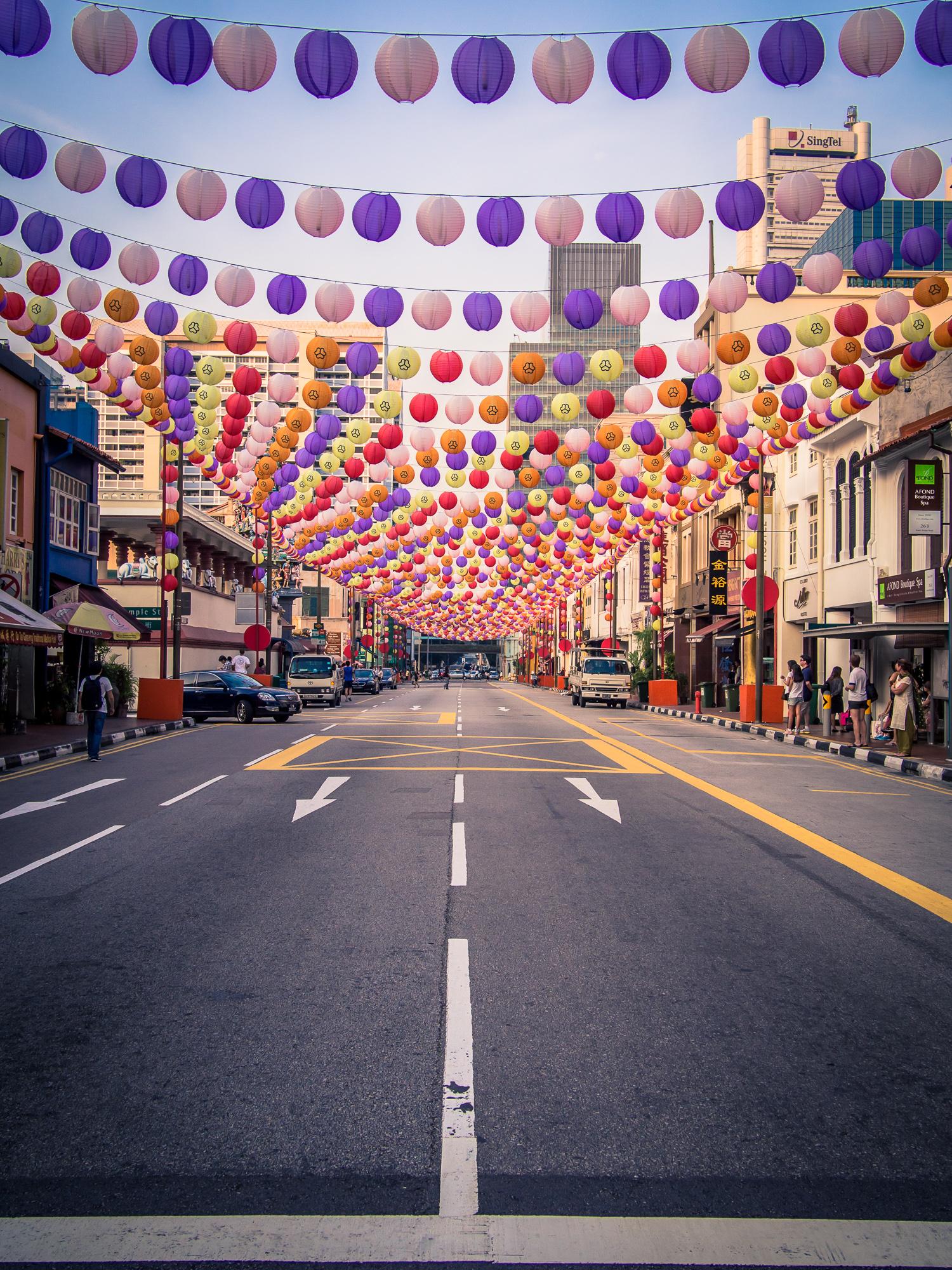 Singapore Chinatown | Fotokunst von Johann Oswald