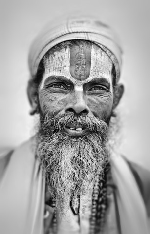 Sadhu in Nepal von Victoria Knobloch