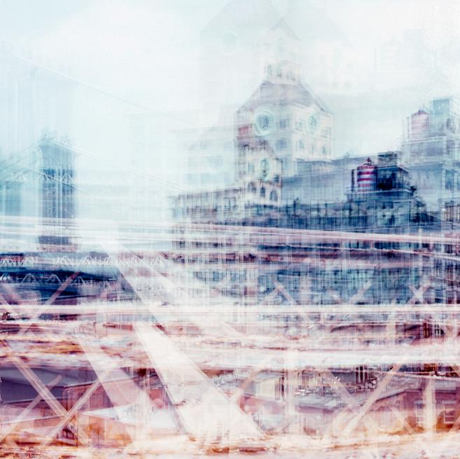 Moving Brooklyn Bridge - Fotokunst von Franzel Drepper