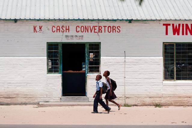 'People of Kongola, Namibia picture 1' - Fotokunst von Franzel Drepper