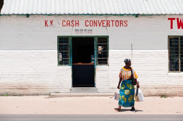'People of Kongola, Namibia , picture 2' - Fotokunst von Franzel Drepper
