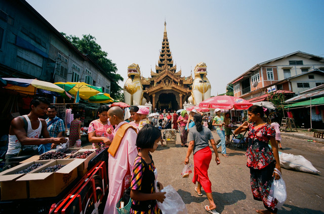 Myanmar Yangon by Jim Delcid