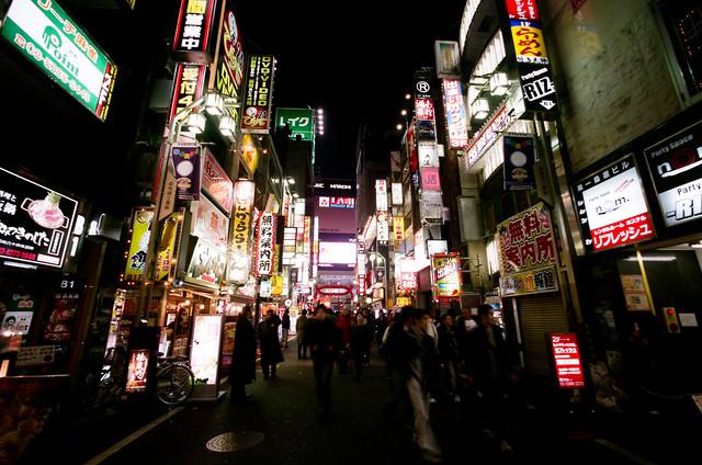 Tokyo Kabukitcho by Jim Delcid