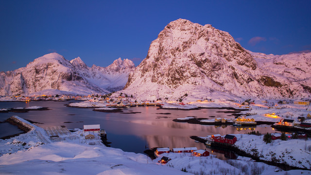 Lofoten Winter Wonderland von Boris Buschardt