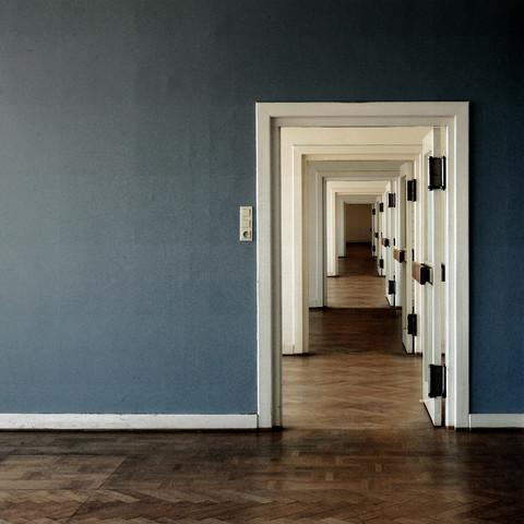 THE BLUE ROOM von David Foster Nass