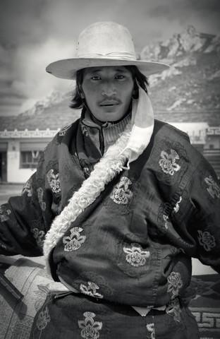 TIBETAN PEOPLE, # 5 von Stephan Opitz