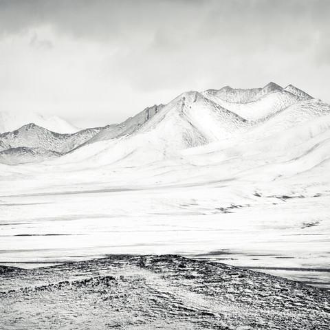 TIBETAN PLATEAU, STUDY, # 6 von Stephan Opitz