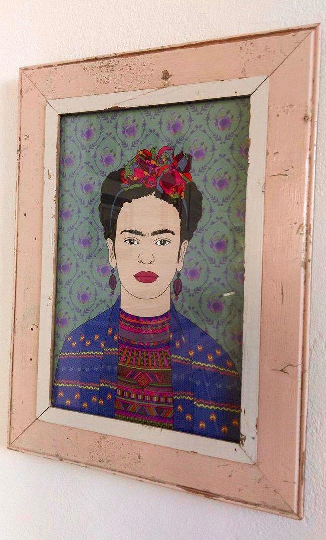 Retro-Chic: Frida Kahlo ♥ LUNA designs