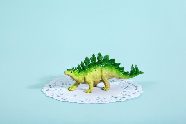 Doily Stegosaurus von Loulou von Glup