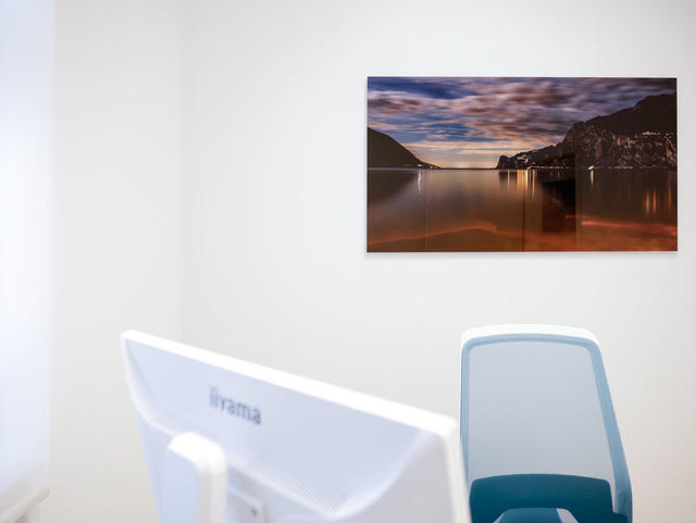 Panoramabild im Behandlungszimmer