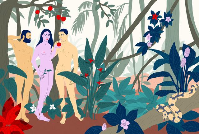 Adam, Adam & Eve von Laura Breiling